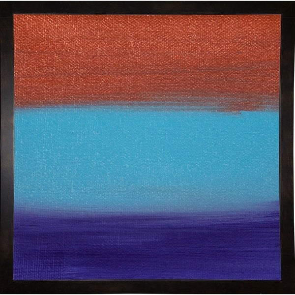 "Dreaming of 21 Sunsets - Canvas III-HILWIN110919 Print 6.75""x6.75"" by Hilary Winfield"