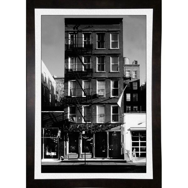 "Steel N House-HARBUI50434 Print 18.5""x12.75"" by Harold Silverman - Buildings & Cityscapes"