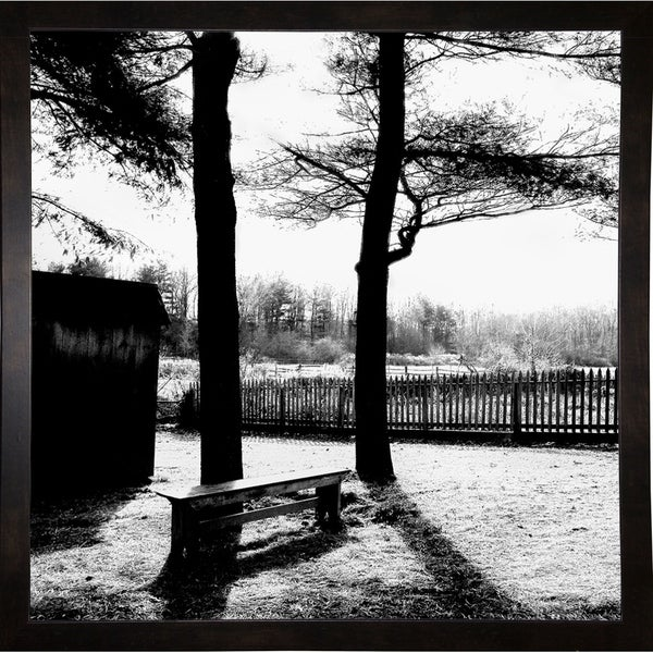 """Shadows Of The Field-HARTRE86960 Print 20.25""""x20.25"""" by Harold Silverman - Trees & Old Fences"""