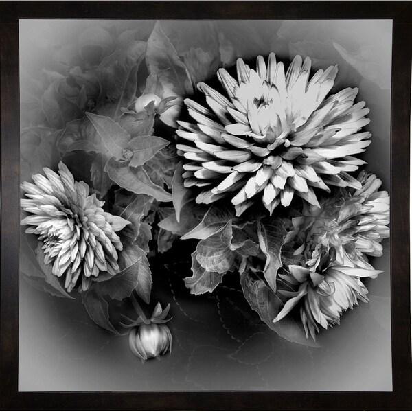 "Vignette On The Vine-HARFLO89197 Print 20""x20"" by Harold Silverman - Flowers"