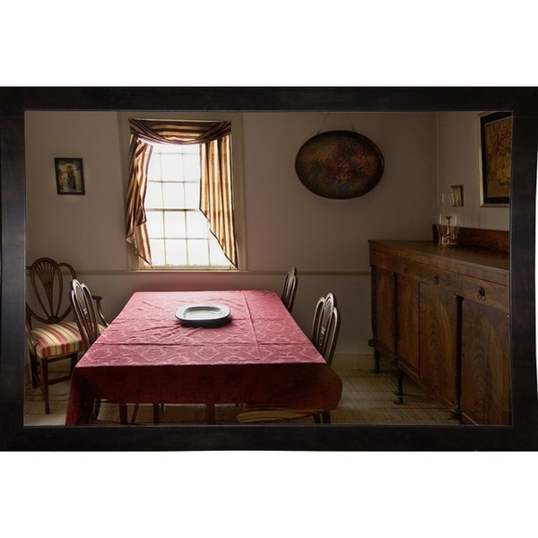 """Front Room With Window-HARMSC81710 Print 13""""x20"""" by Harold Silverman - Msc."""