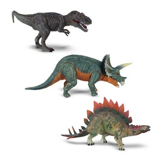NKOK WowWorld Medium Poseable Dinosaurs 3-pack
