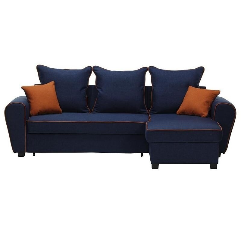 SALLY Right Corner Sectional Sofa-Bed