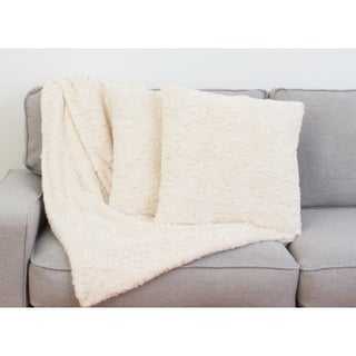 Thro Set of 2 Maeve Branch Pillows & Decorative Throw Set