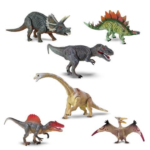 NKOK WowWorld Small Poseable Dinosaurs 6-pack