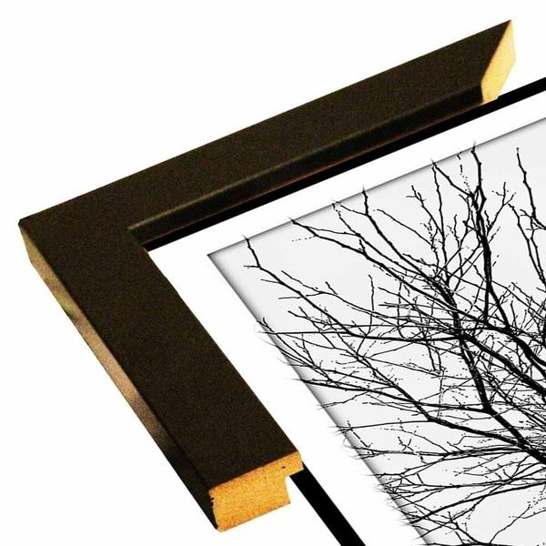 "Solarized Single Tree-HARTRE81723 Print 21""x10"" by Harold Silverman - Trees & Old Fences"