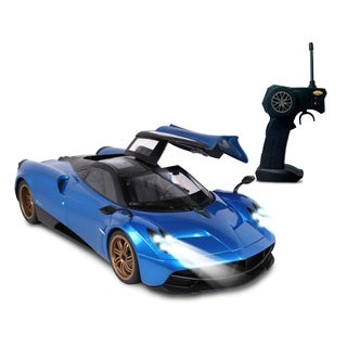 NKOK LUXE 1:14 Scale Radio Controlled Pagani Huayra (RC) - Colors Vary (Red/Blue)