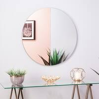 Wells Round Decorative Mirror