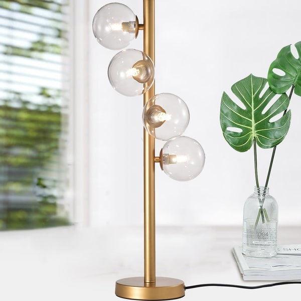 Rasen 16 Inch 4 Light Gold Finish Floor Lamp Bulbs Included On Free Shipping Today 24163481