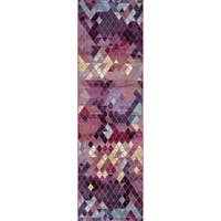 """Mod-Arte, Rhapsody Collection, Contemporary & Transitional Style, Runner Rug - 2'4"""" x 7'10"""""""