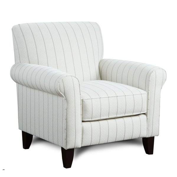 Handmade Cotton Upholstered Accent Chair