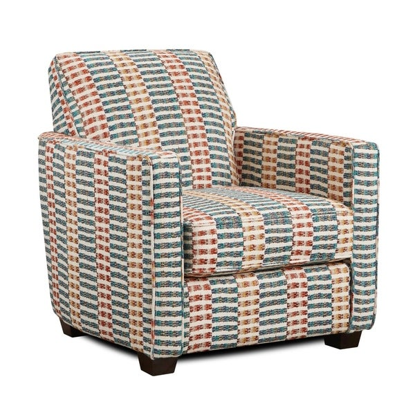 Urban Kaleidoscope Multi-colored Accent Chair