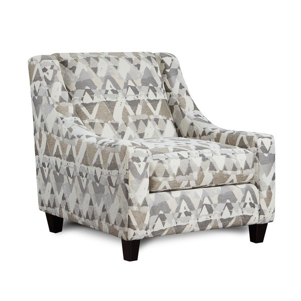 Mountain View Cement Grey Accent Chair