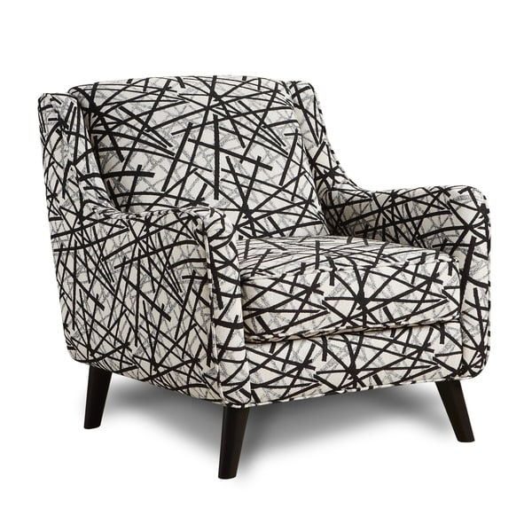 Missoni Style Print Accent Chair: Shop Gemma Zebra Animal Print Modern Accent Chair
