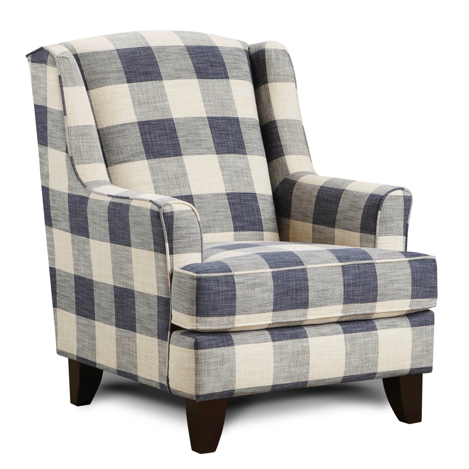 Terrific Yucatan Indigo Accent Chair Gmtry Best Dining Table And Chair Ideas Images Gmtryco
