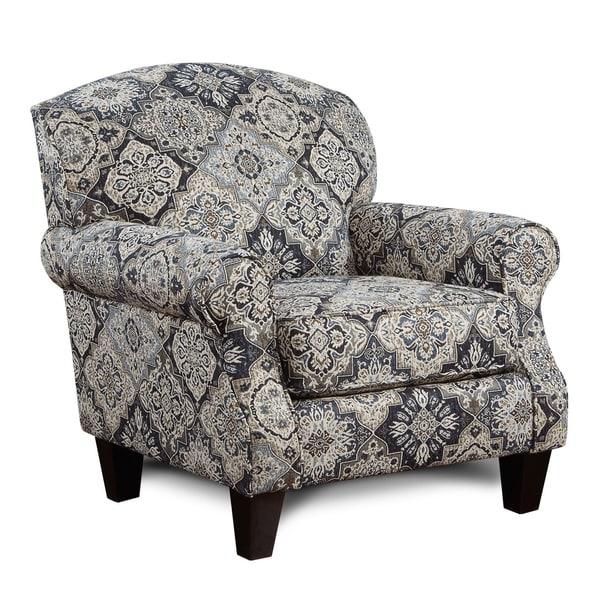 Shop Sambuca Blackwhitegrey Accent Chair Free Shipping Today