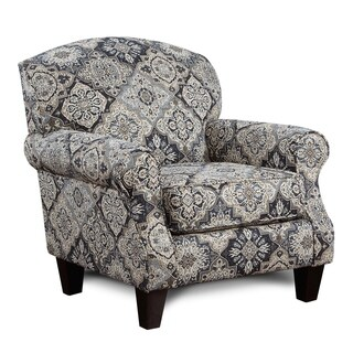Sambuca Black/White/Grey Accent Chair