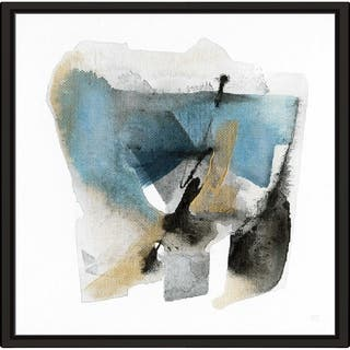 """Artesian Spring II"" by Susan Jill Print on Canvas in Floating Frame - White"