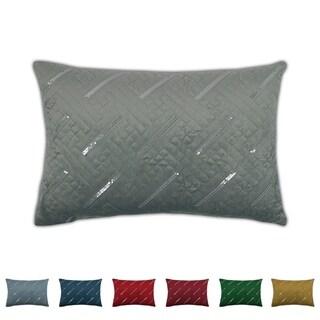 Sherry Kline Fairfield Boudoir Sequins Velvet Pillow