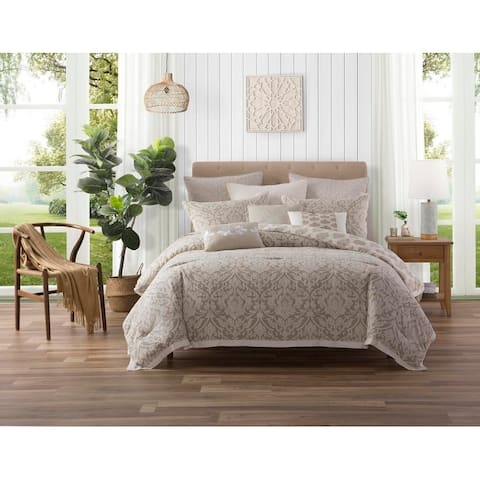 Ellen Tracy 5 Piece Chandler Cotton Reversible Comforter Set - Multi