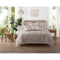 Ellen Tracy 5 Piece Chandler Cotton Reversible Comforter Set - Multi