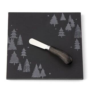 Lenox Balsam Lane Slate Cheese Board with Knife