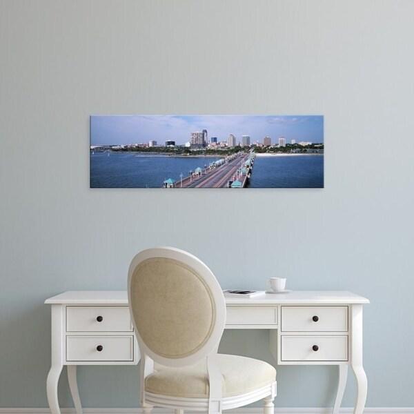 Easy Art Prints Panoramic Images's 'USA, Florida, St. Petersburg, Pier' Premium Canvas Art