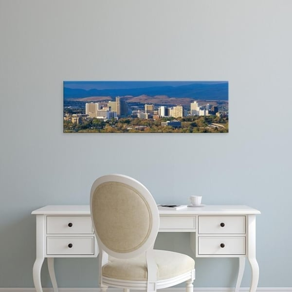 Easy Art Prints Panoramic Images's 'Reno, Nevada, USA' Premium Canvas Art