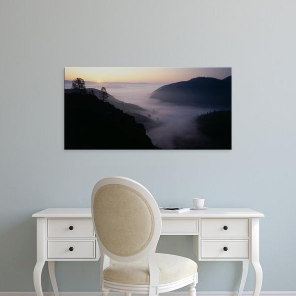 Easy Art Prints Panoramic Images's 'USA, California, Pinnacles National Monument' Premium Canvas Art