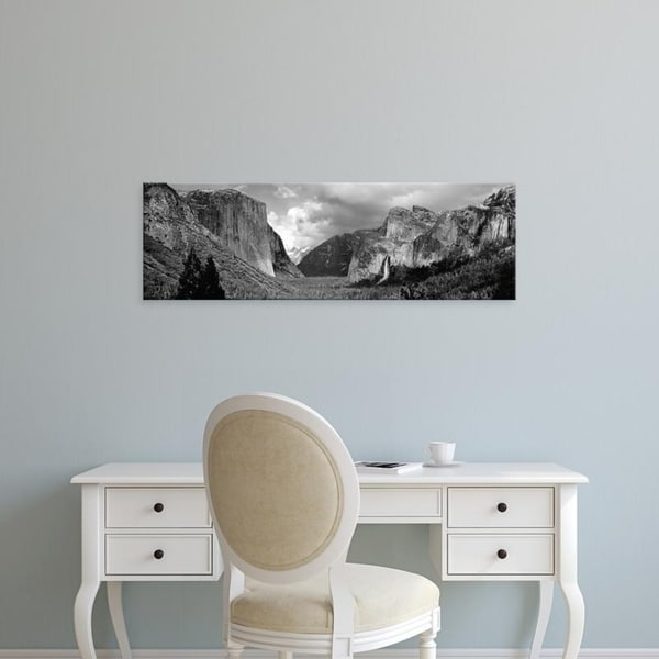 Easy Art Prints Panoramic Images's 'USA, California, Yosemite National Park, View of rock formations in a landscape' Canvas Art