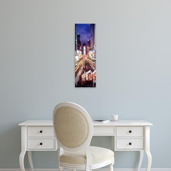 Easy Art Prints Panoramic Images's 'Times Square, NYC, New York City, New York State, USA' Premium Canvas Art