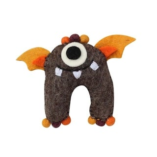 Link to Handmade Felt Earth Tooth Monster Kids Toy (Nepal) Similar Items in Wallets