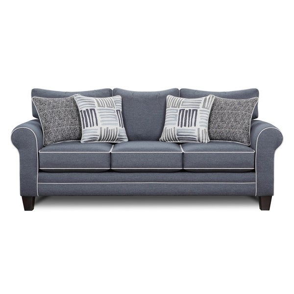 Grande Denim Blue Sleeper Sofa