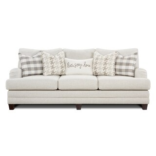 Off-white Wool Sofa