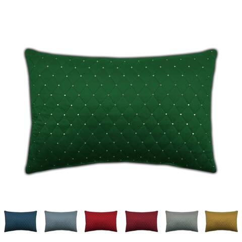 Sherry Kline Dixon Boudoir Sequins Velvet Pillow