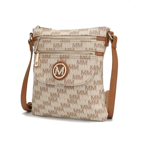 MKF Collection Aretha M Signature Crossbody Bag by Mia K.