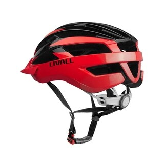 LIVALL Bling Smart Cycling Helmet MT1 - Black/Red