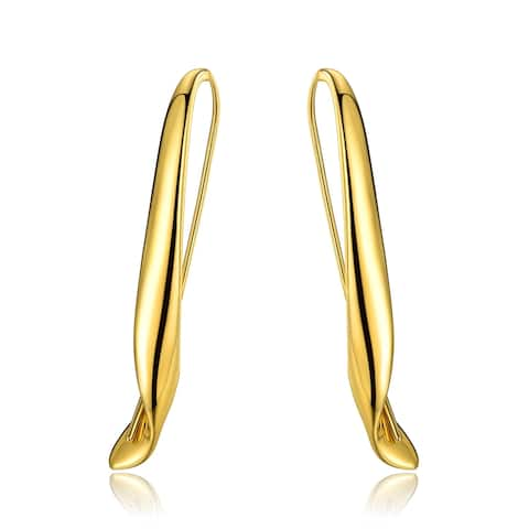 Gold Plated Threader Earrings