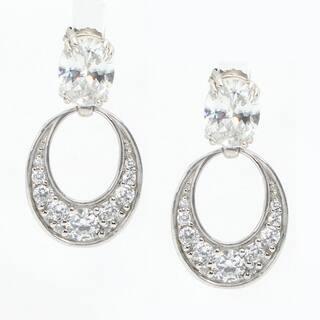 aa3dac572 Buy Oval Cubic Zirconia Earrings Sale Online at Overstock | Our Best  Earrings Deals