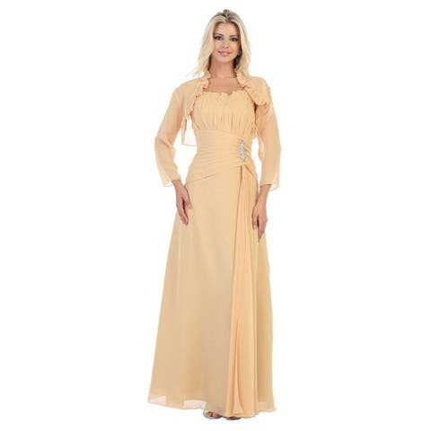 aa71378452626 Gold Dresses | Find Great Women's Clothing Deals Shopping at Overstock