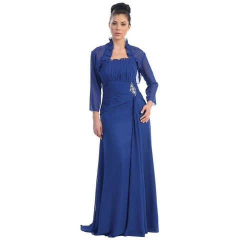 Elegant Mother of the Bride Dress With Matching Jacket