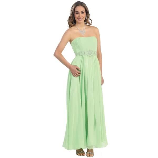 Shop Simple Yet Beautiful Long Bridesmaids Dresses & Plus ...
