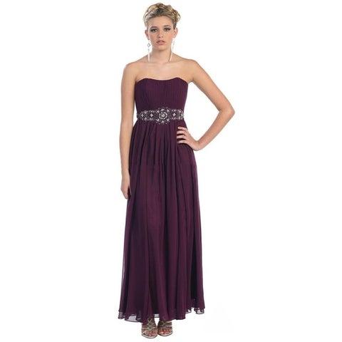 Simple Yet Beautiful Long Bridesmaids Dresses & Plus Size