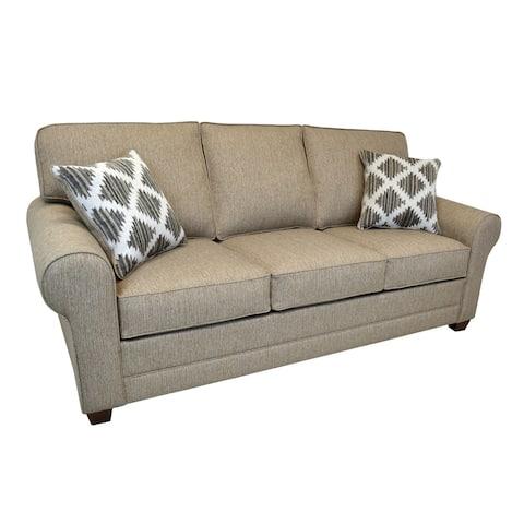 Bevan Beige Fabric Sofa