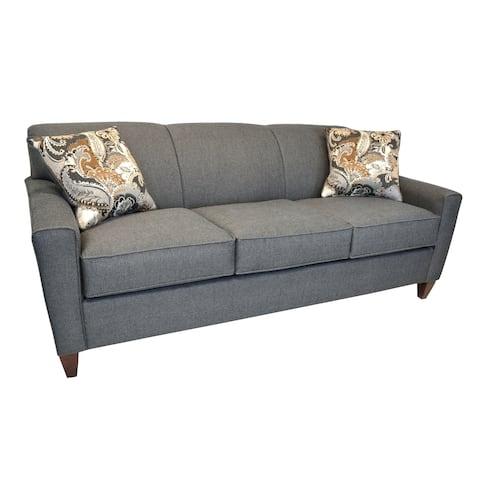 Julie Grey Fabric Sofa
