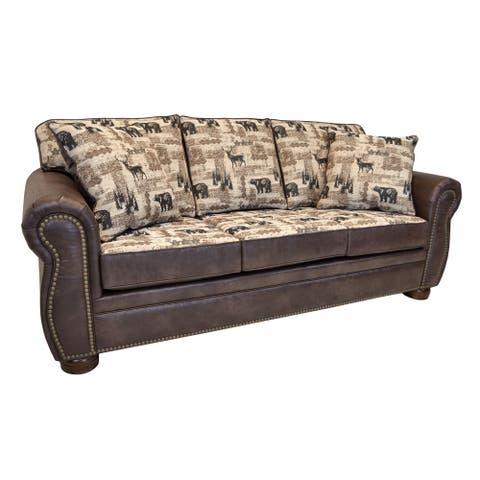 Redwood Classic Lodge Sofa
