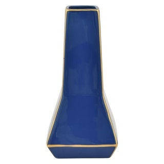 Three Hands Porcelain Vase - Blue & Gold