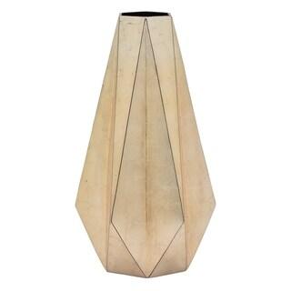 Three Hands Ceramic Vase - Rose Gold