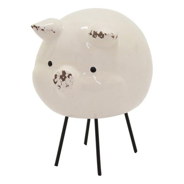 Three Hands Ceramic Pig Tabletop