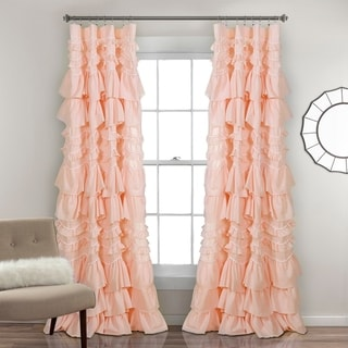 """The Gray Barn Hallelujah Acres Window Curtain Panel in White - 52""""W x 84""""L (As Is Item)"""